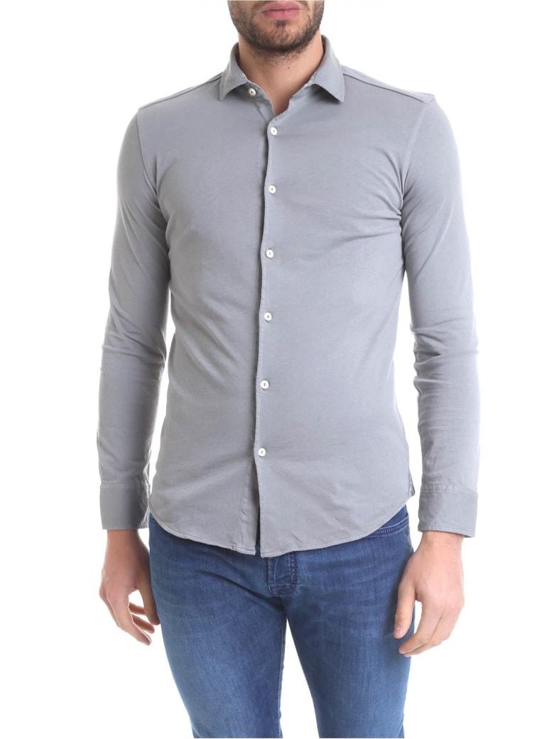 Drumohr Polo Shirt Cotton - Gray