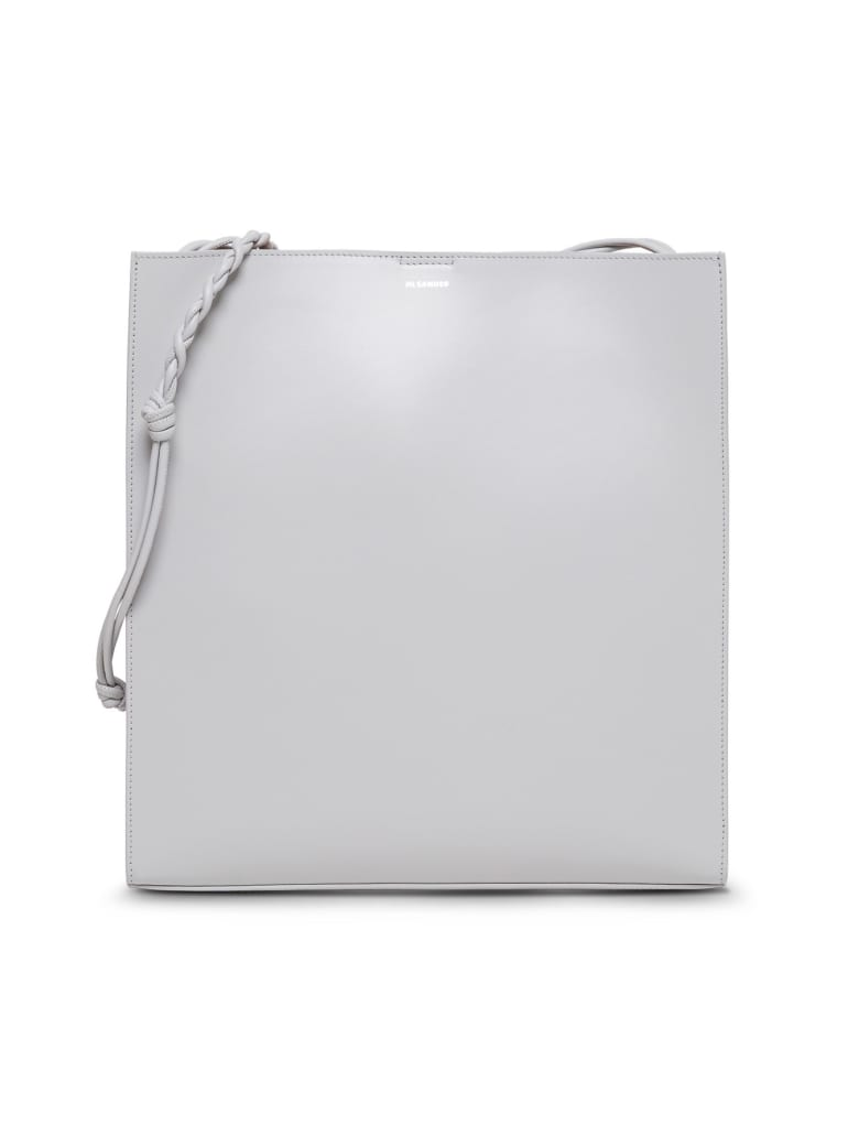 Jil Sander Large Tangle Shoulder Bag - Grey