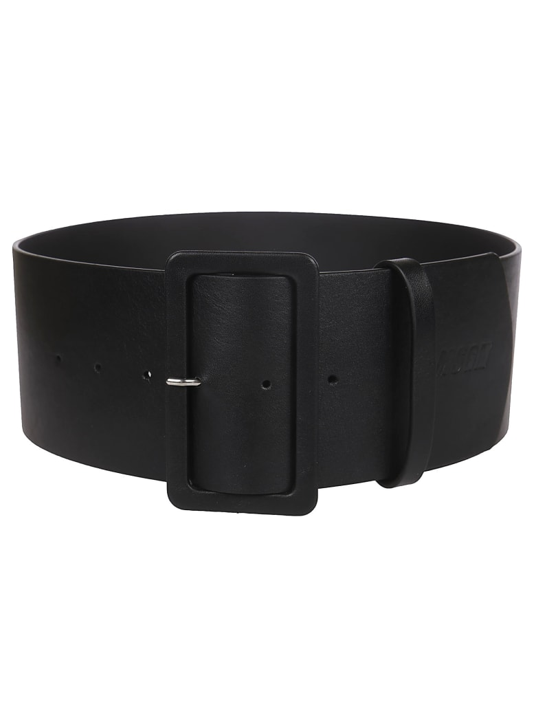 MSGM Buckled Belt - black