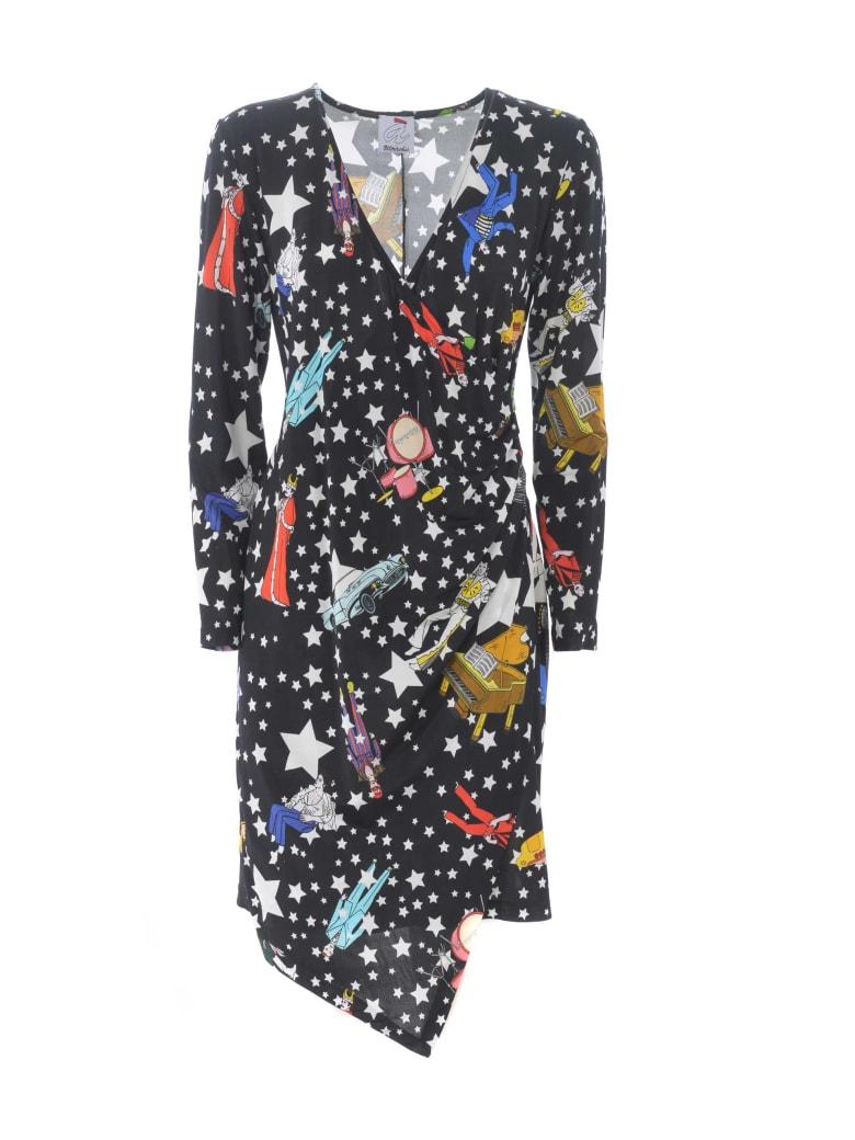 Ultrachic Dress - Nero/multicolor