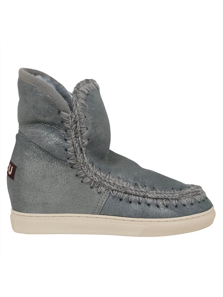 Mou Stitched High-cut Eskimo Boots - Duaivy Duaivy