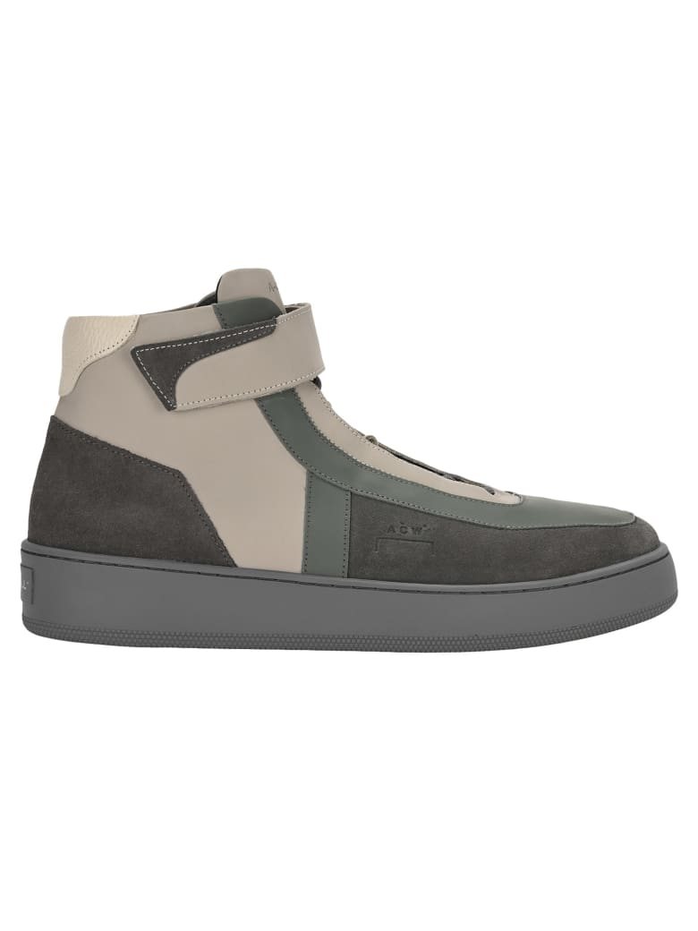 A-COLD-WALL A Cold Wall Hi-top Trainers - GREY