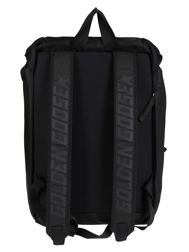 Golden Goose Black Canvas Backpack - Black