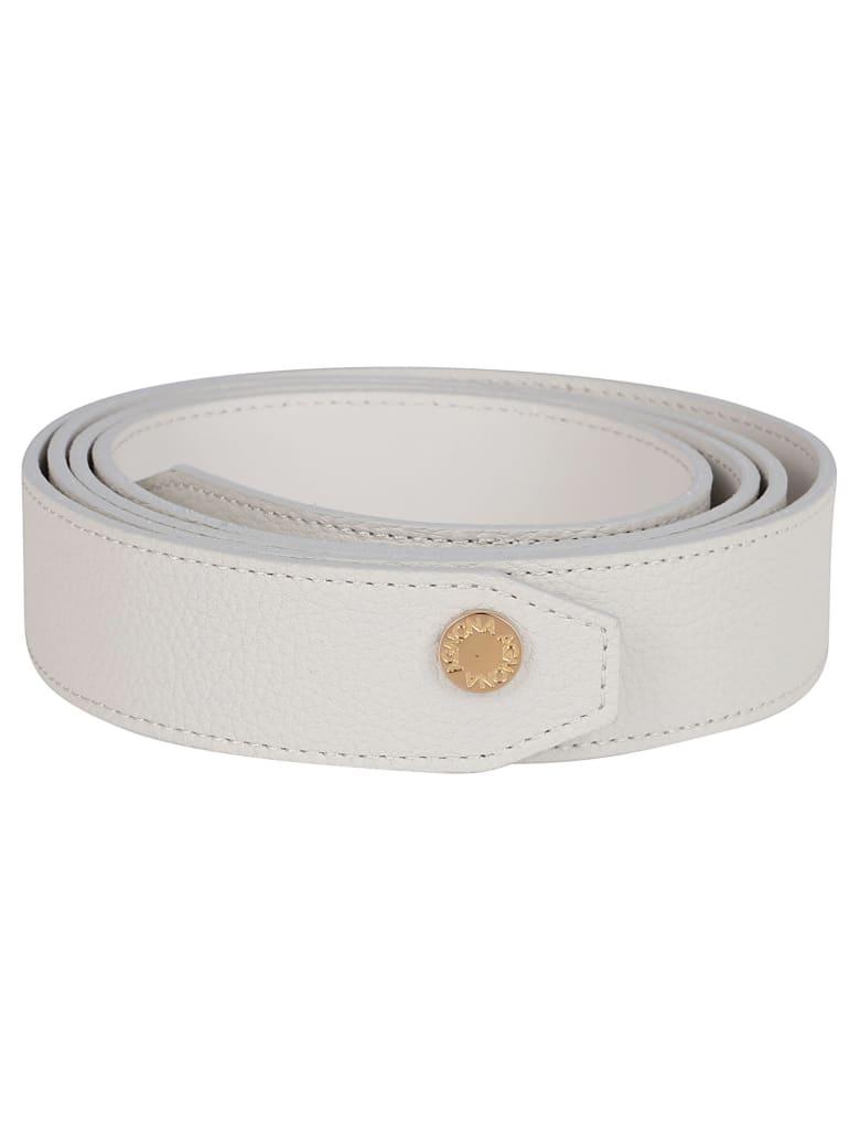 Agnona Ivory Leather Belt - IVORY