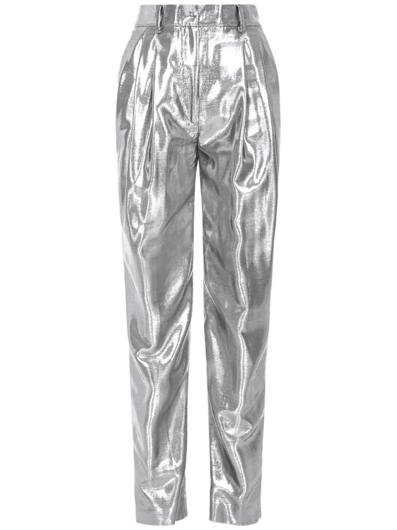 Alberta Ferretti Trousers - Silver