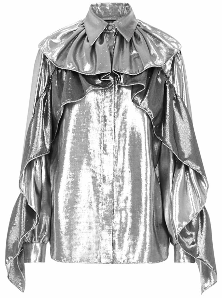 Alberta Ferretti Blouse - Silver