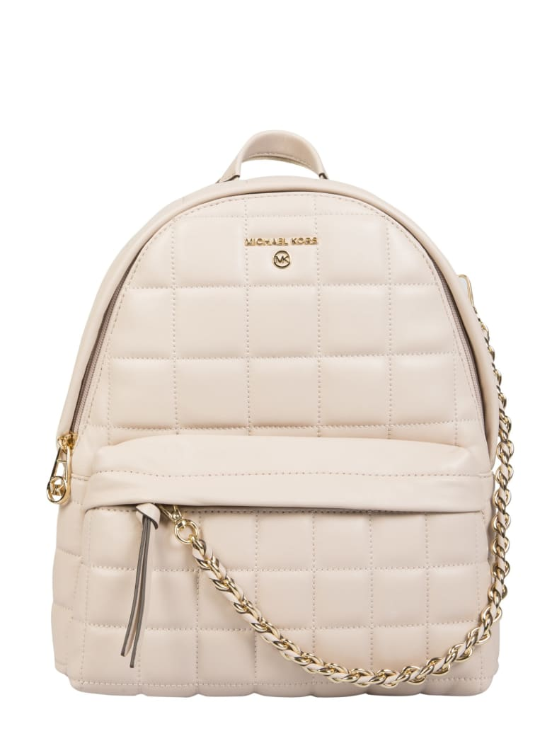 Michael Kors Backpack With Logo - SOFT PINK