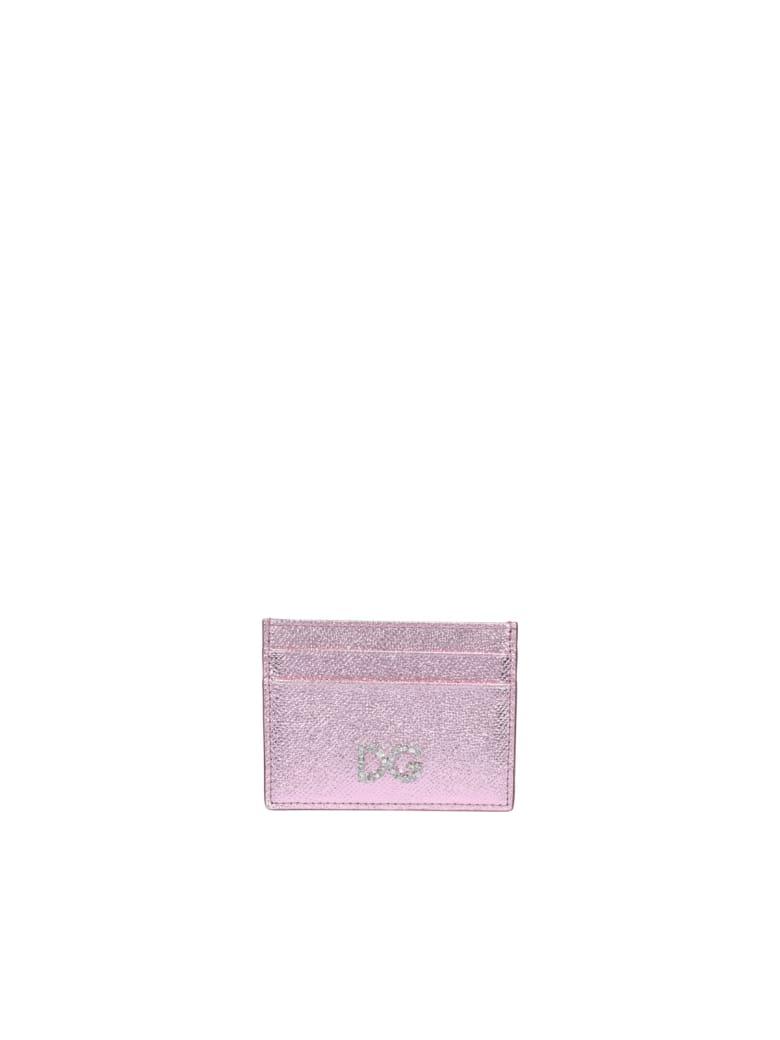 Dolce & Gabbana Logo Cards Holder - Pink