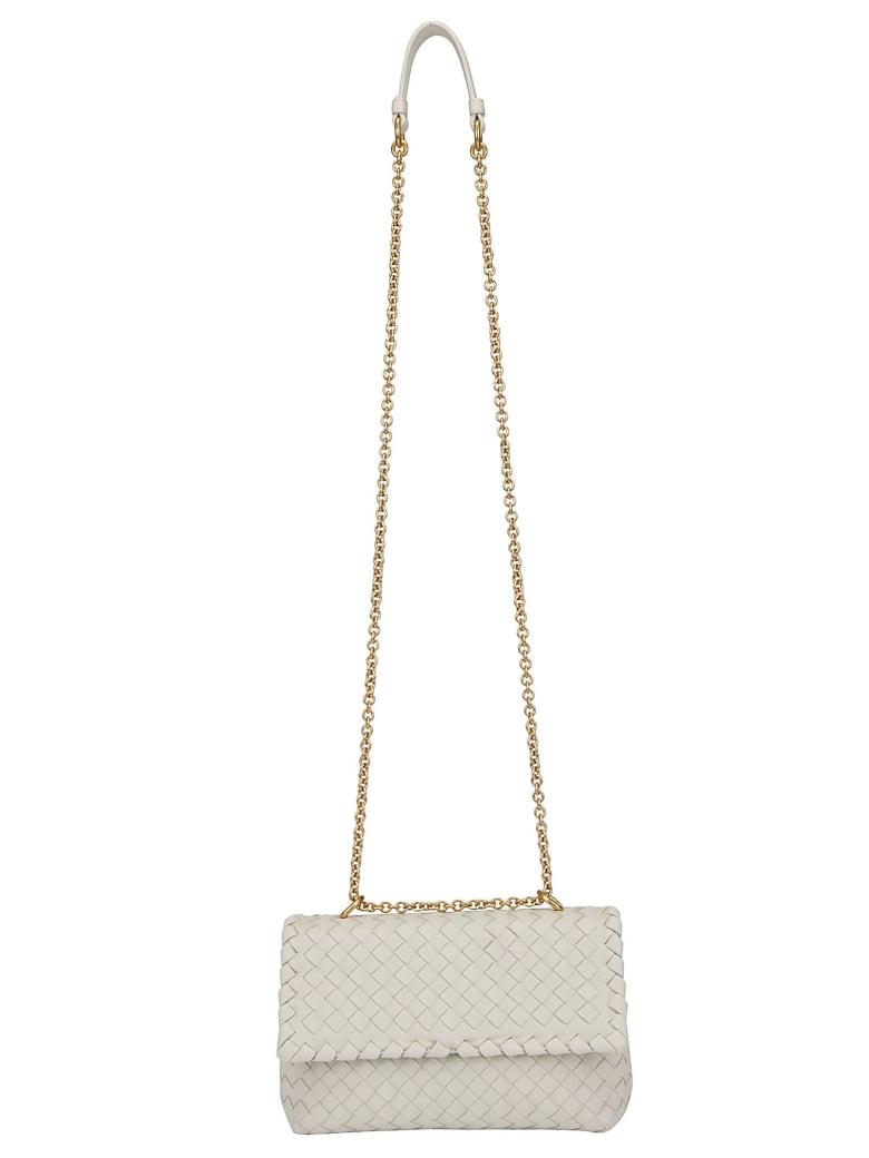 Bottega Veneta Baby Olimpia Shoulder Bag - Plaster/gold