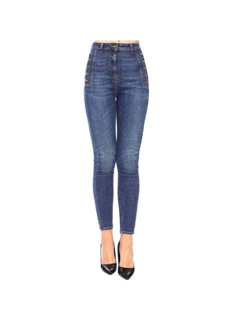 finest selection a6ce8 8a437 Best price on the market at italist | Elisabetta Franchi Celyn B.  Elisabetta Franchi Jeans Jeans Women Elisabetta Franchi
