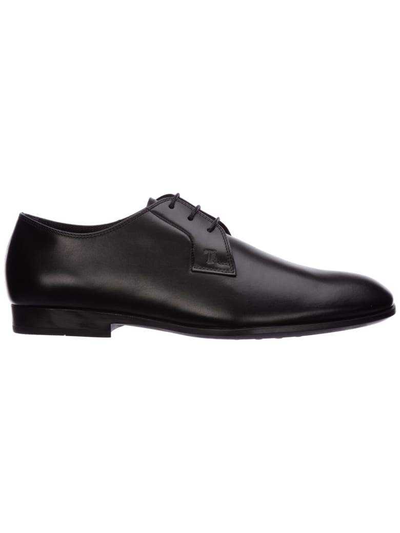 Tod's Gommino Lace-up Shoes - black