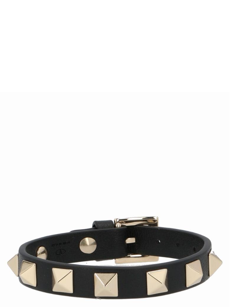 Valentino Garavani 'rockstud' Bracelet - Black
