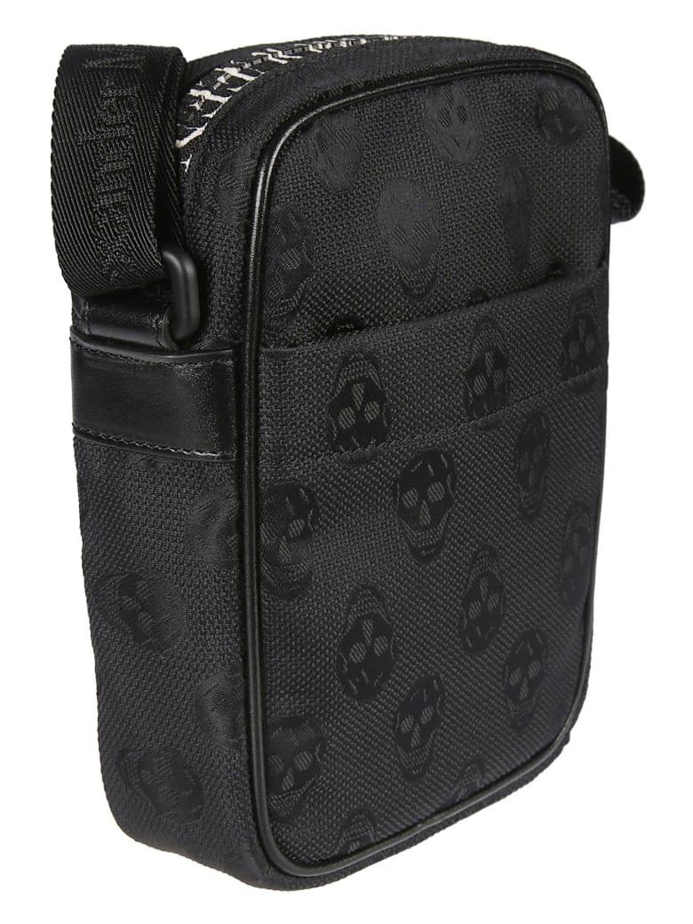 Alexander McQueen Skull Print Crossbody Bag - Nero