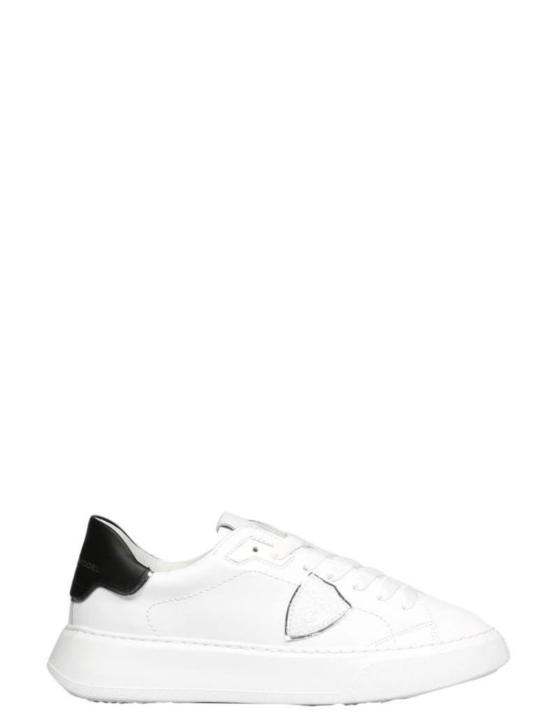 Philippe Model Temple L D Veau Sneakers - White
