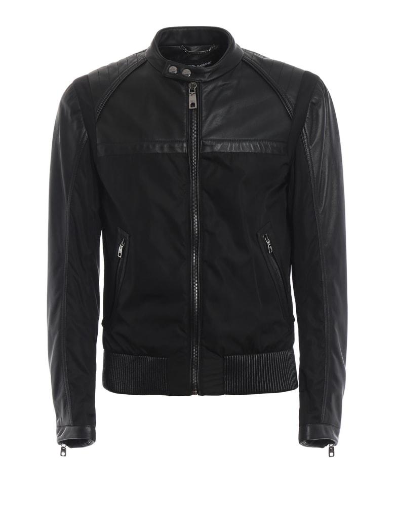 Dolce & Gabbana Paneled Jacket - Black