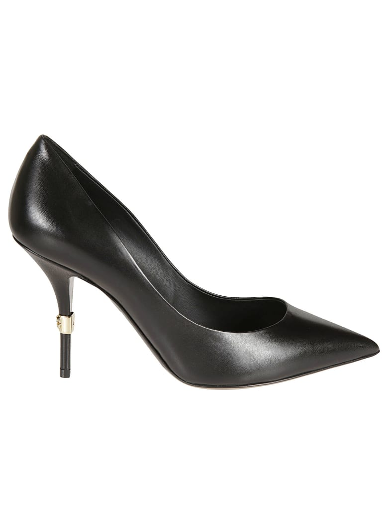 Dolce & Gabbana Pointed Toe Pumps - Black