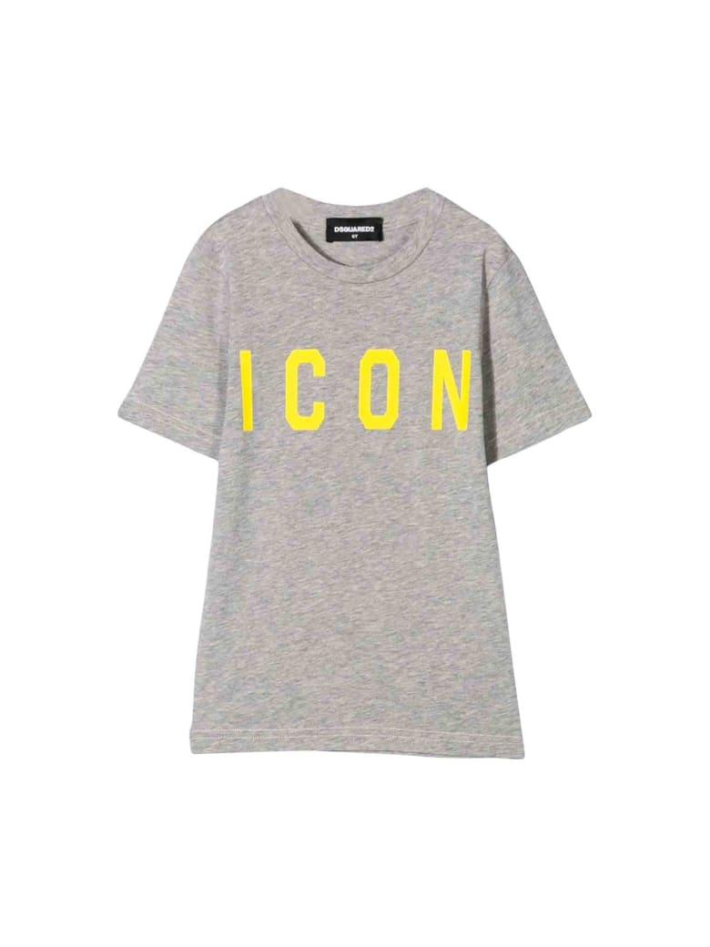 Dsquared2 Gray T-shirt - Unica
