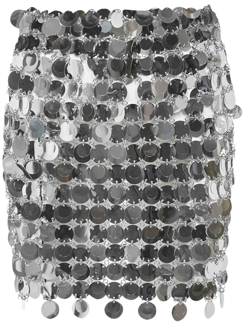 Paco Rabanne Skirt - Silver