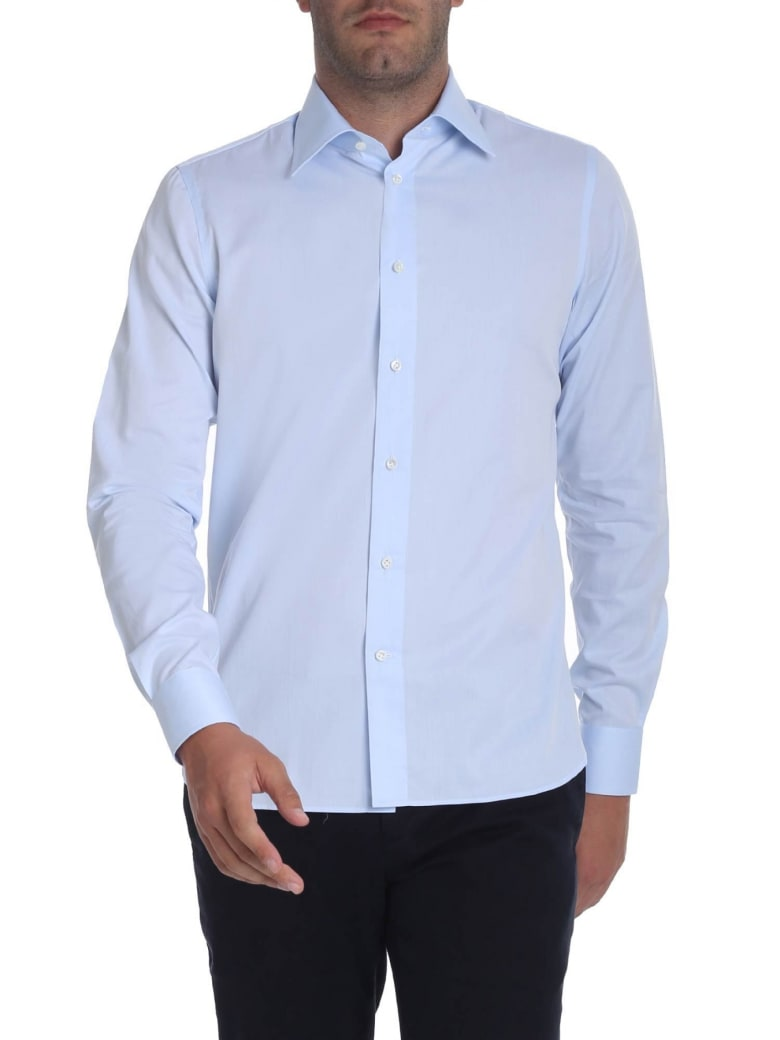 G. Inglese Cotton Shirt - heavenly