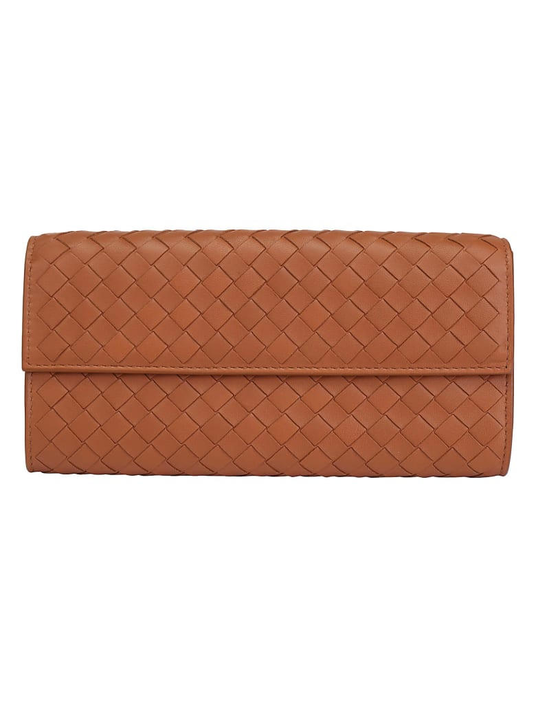 Bottega Veneta Wallet - Wood