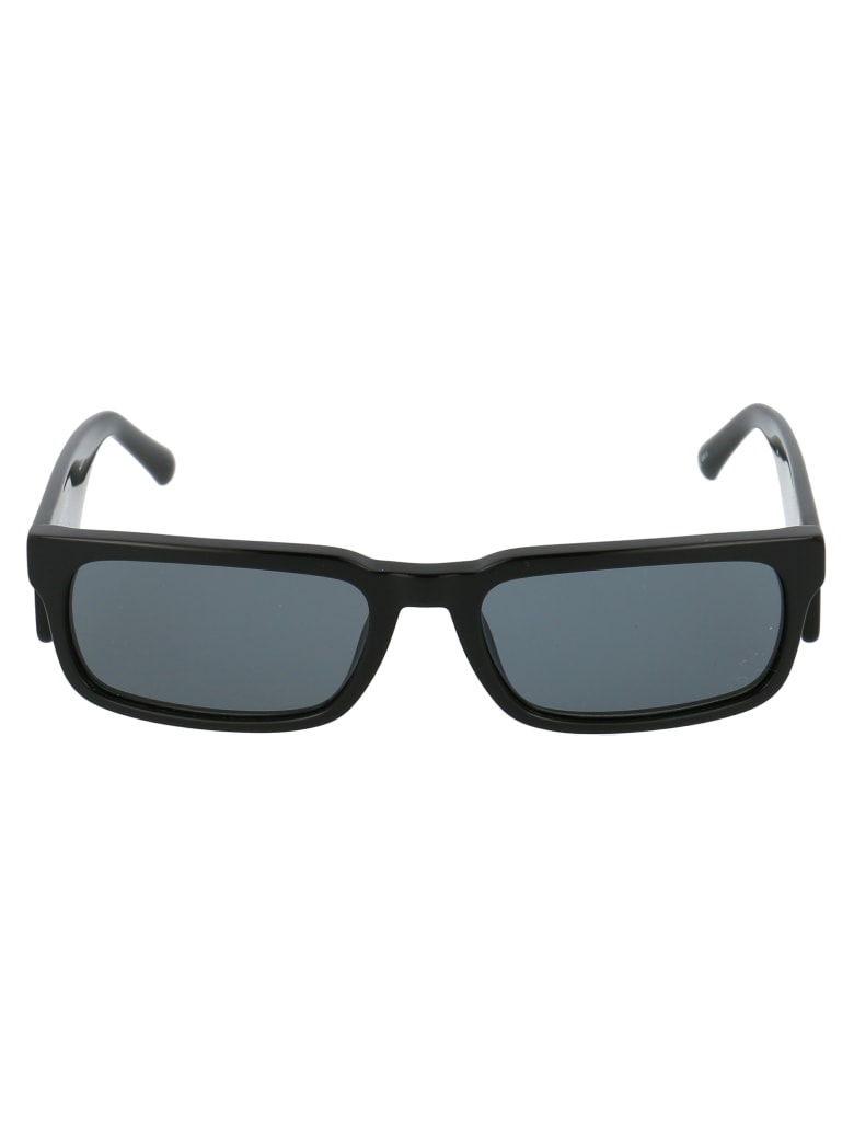 Marcelo Burlon Sunglasses - Black Silver Grey