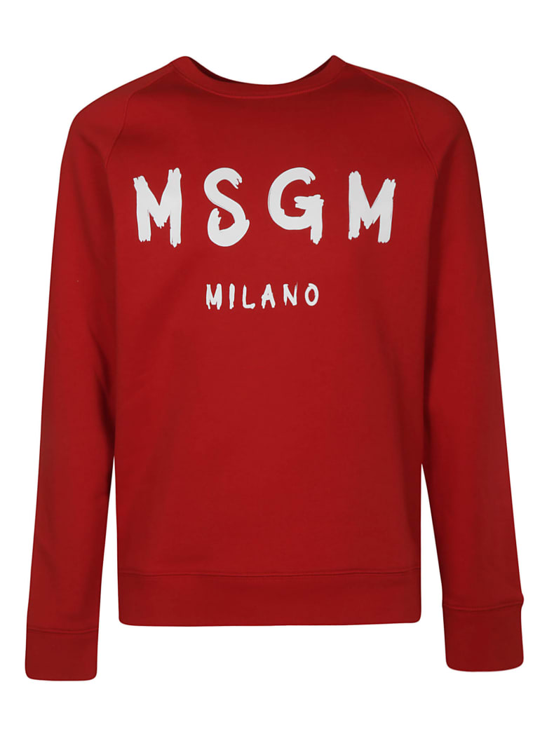 MSGM Milano Sweatshirt - Red