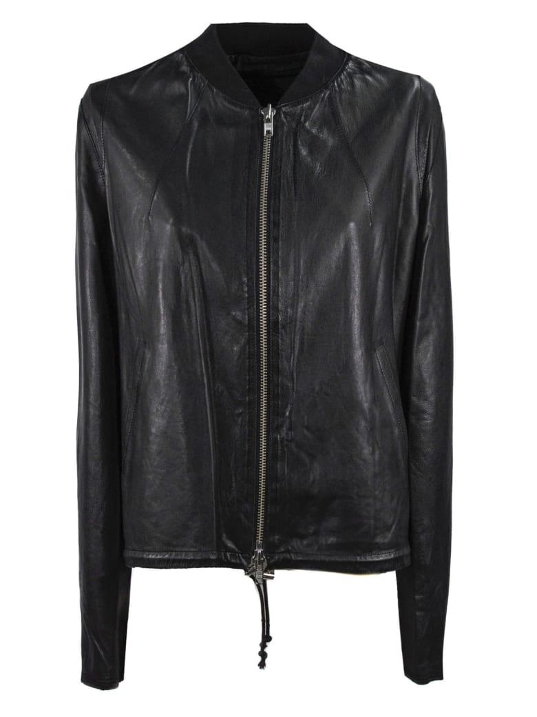 S.W.O.R.D 6.6.44 Black Leather Jacket - Nero