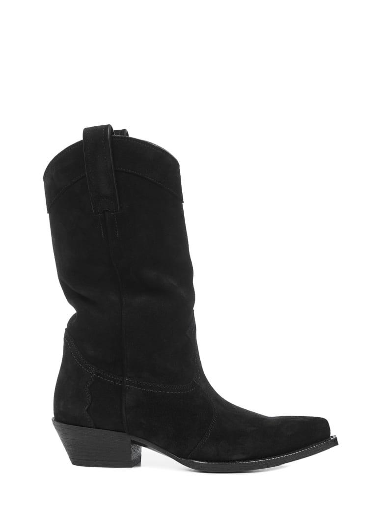 Saint Laurent Lukas Boots - Black