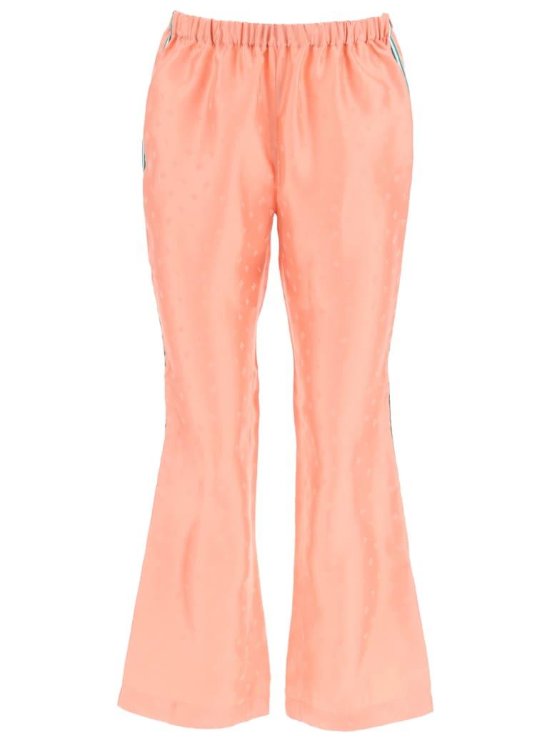 Marni Jacquard Trousers - Peach