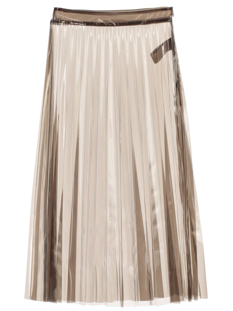 SSHEENA Skirt Plisse Pvc - Black