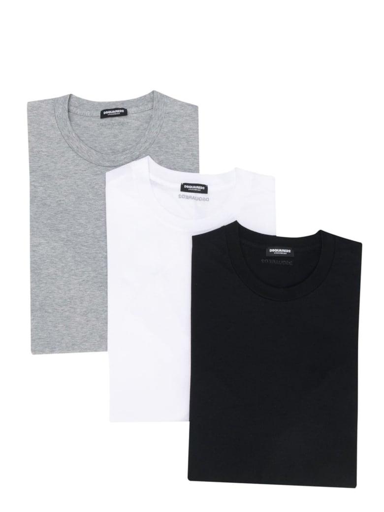 Dsquared2 3pack T-shirt - Multicolour