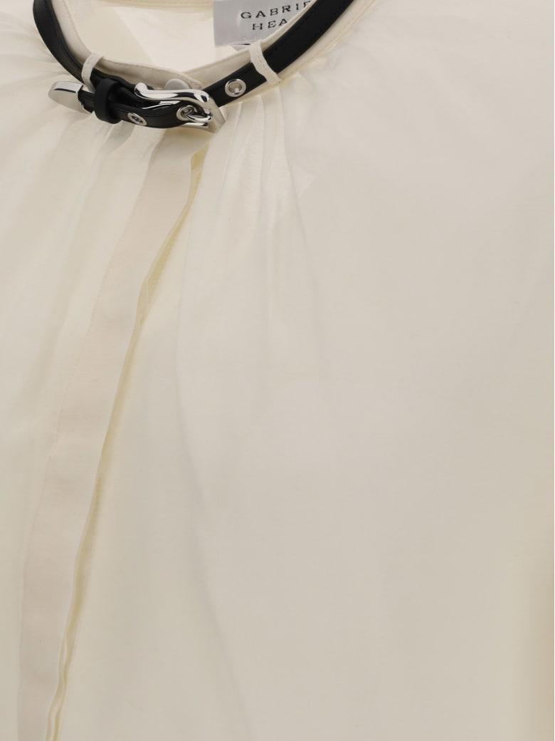 Gabriela Hearst Vlychos Blouse - Ivory