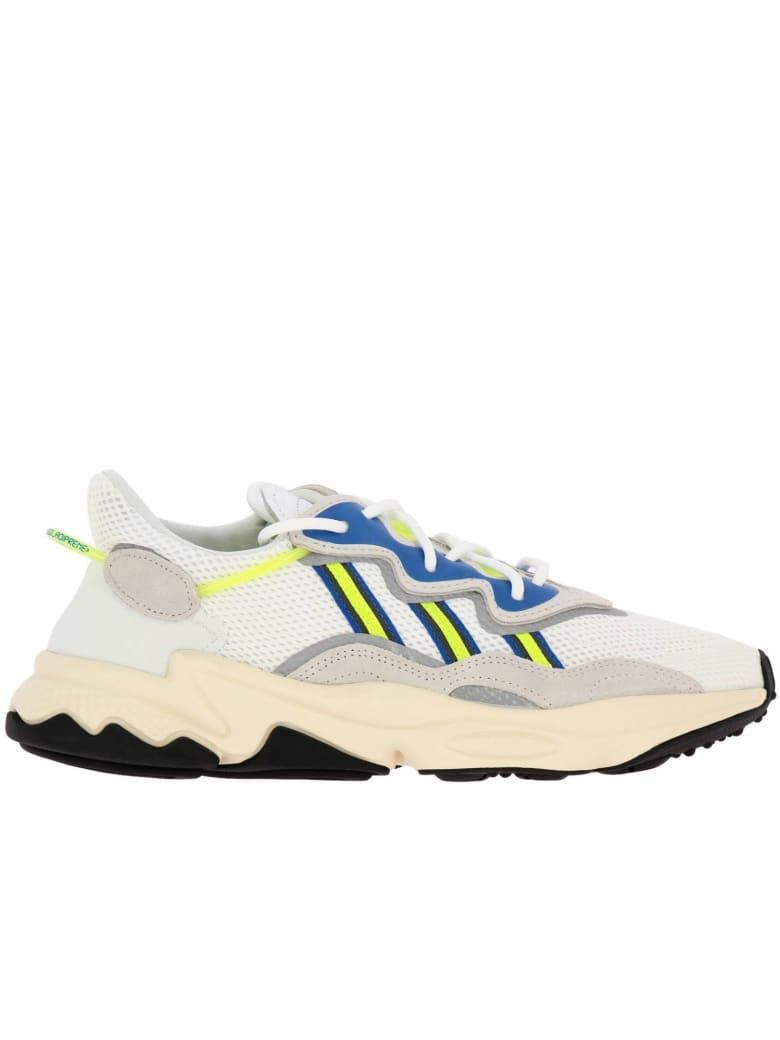 chaussures de séparation 3b66a 8b82a Best price on the market at italist | Adidas Originals Adidas Originals  Sneakers Sneakers Ozweego Adidas Originals In Suede And Fluo Rubber