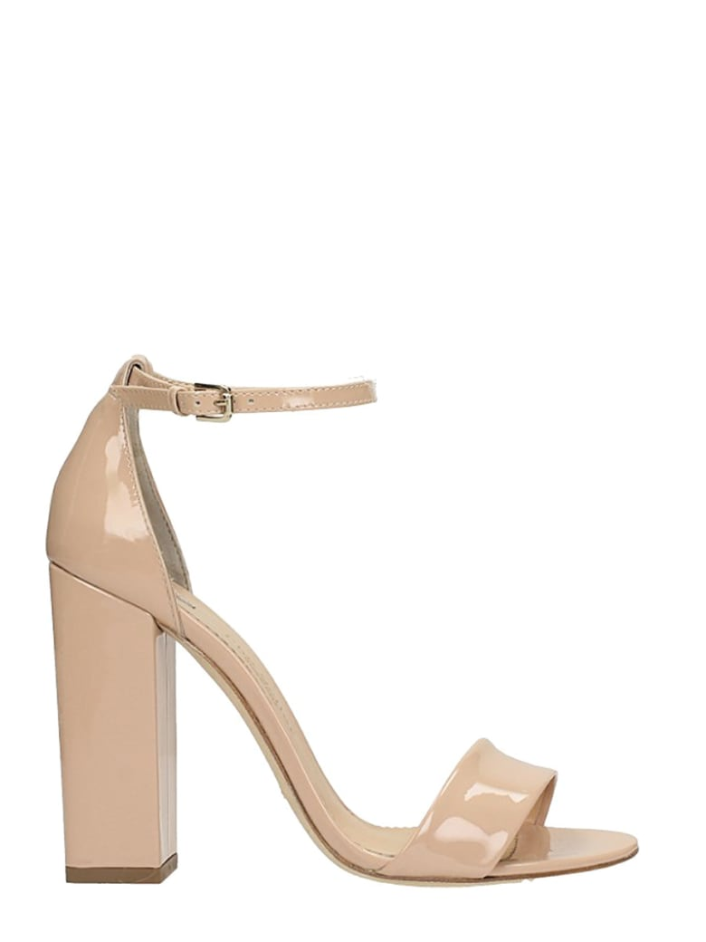 The Seller Nude Patent Leather - powder