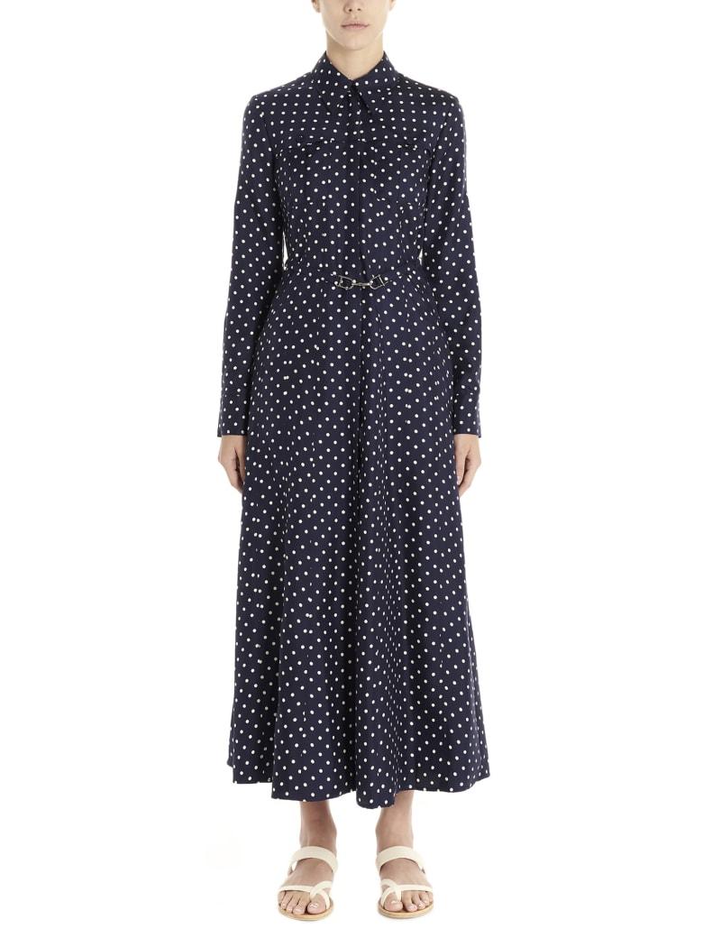 Gabriela Hearst 'descartes' Dress - Blue