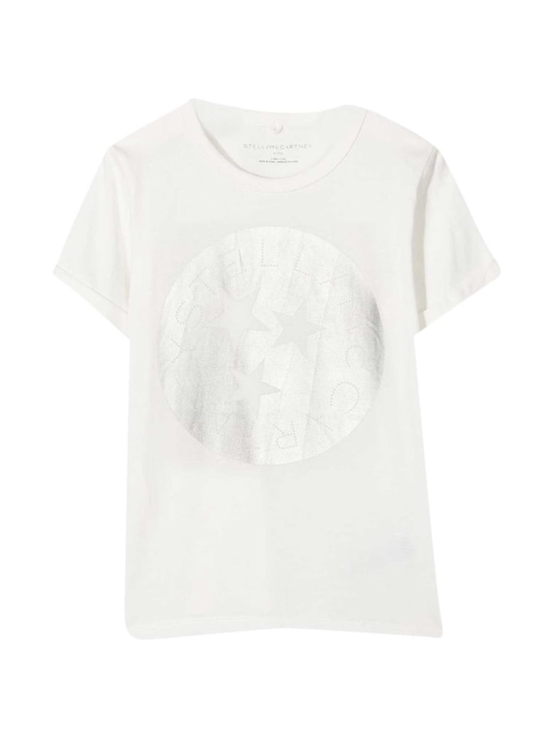 Stella McCartney Kids White T-shirt - Bianco