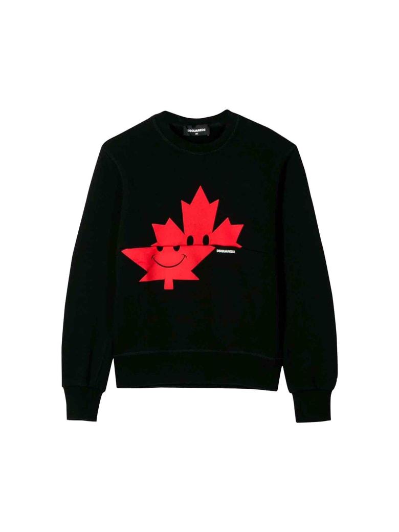 Dsquared2 Black Sweatshirt - Unica