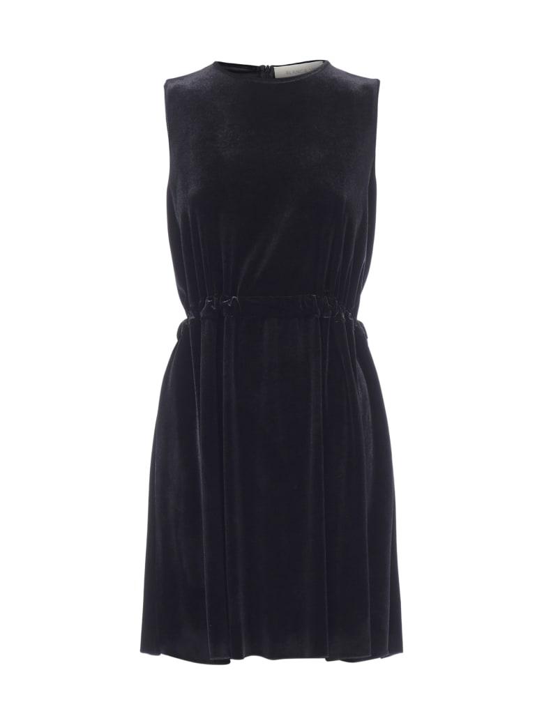 Blanca Vita Amalia Velvet Dress - Onice