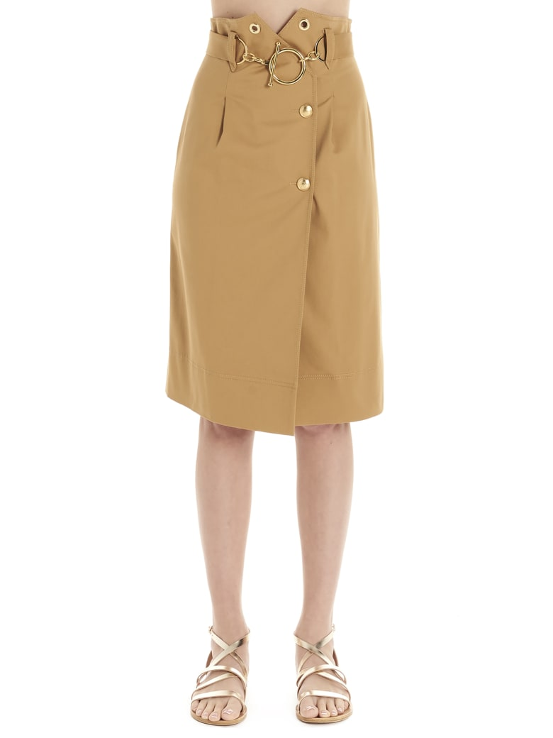 Alberta Ferretti Skirt - Marrone