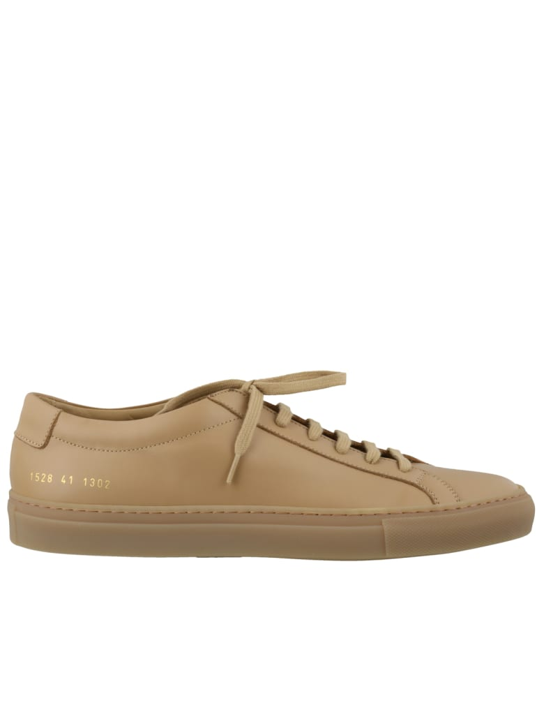 Common Projects Original Achilles Low Sneakers - Tan