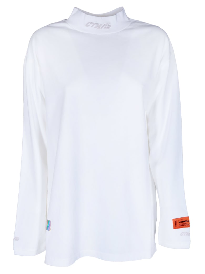 HERON PRESTON Mock Sweatshirt