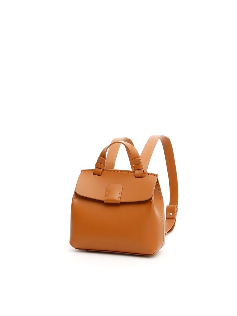 Nico Giani Small Hoodia Backpack - BROWN (Brown)