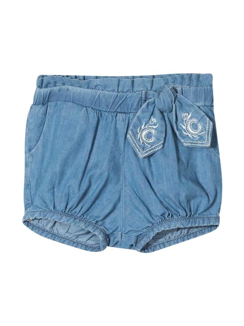 Chloé Denim Shorts Chloé Kids - Denim
