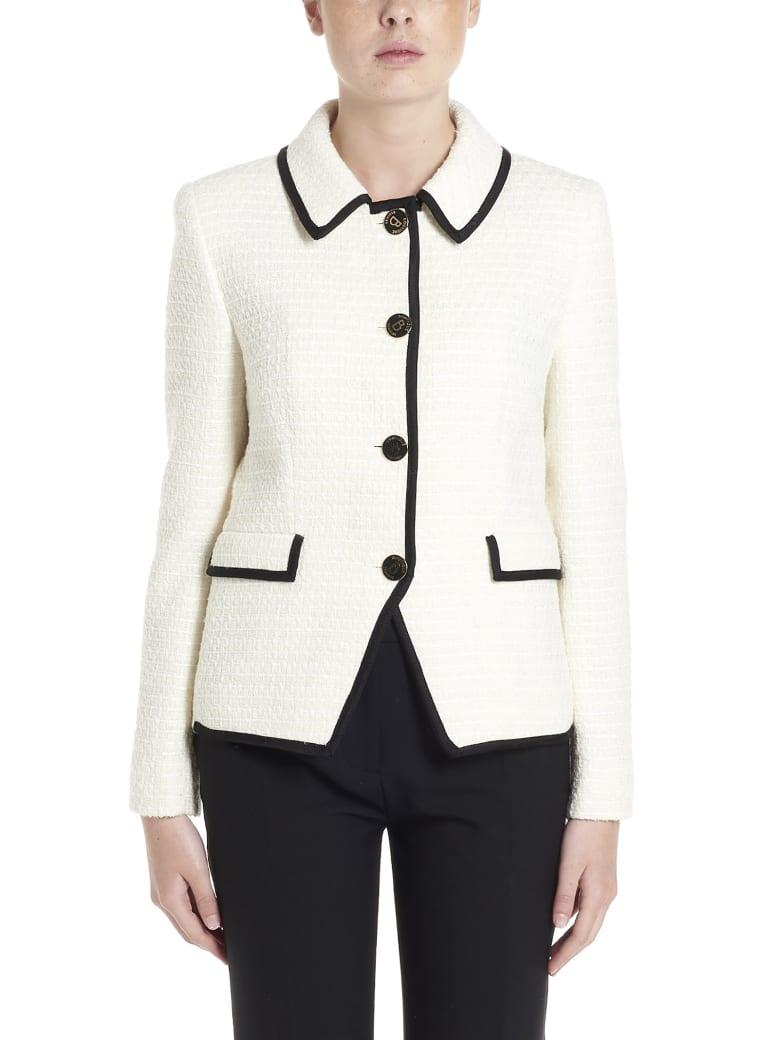 Boutique Moschino Jacket - White