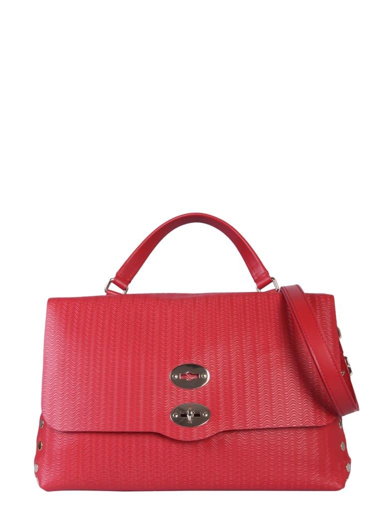 Zanellato Medium Postal Bag - ROSSO