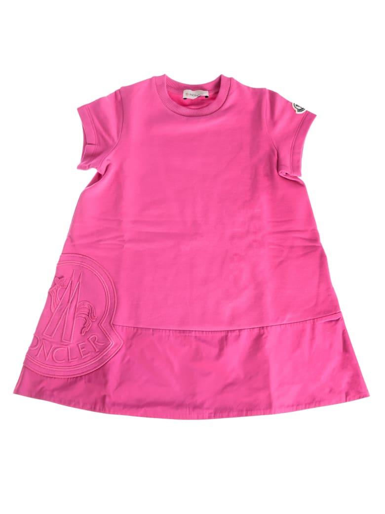 Moncler Short-sleeved Mini Dress