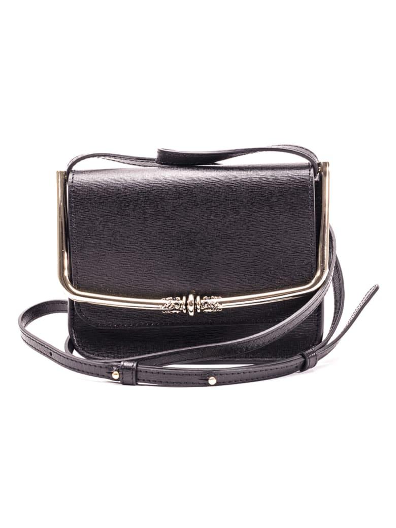 L'Autre Chose Lautre Chose Leather Shoulder Bag - BLACK