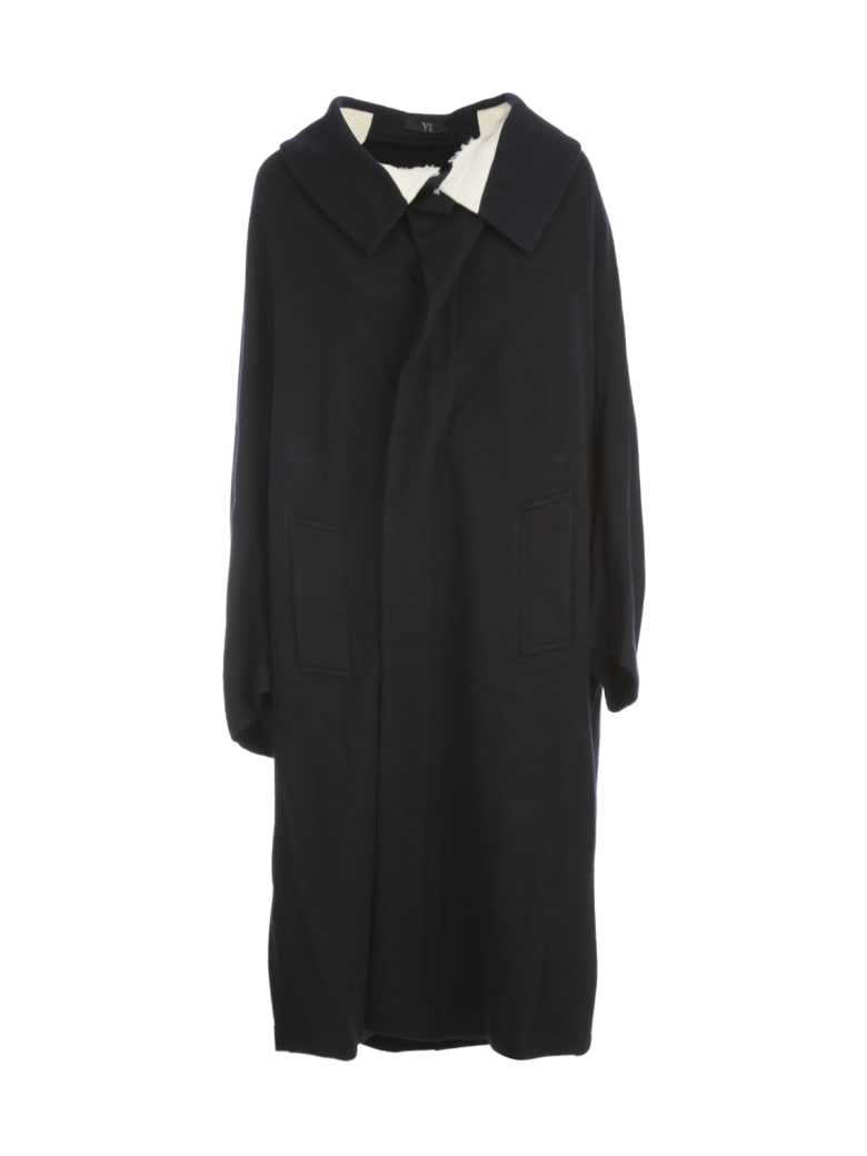 Y's French Sleeve Cape - Navy