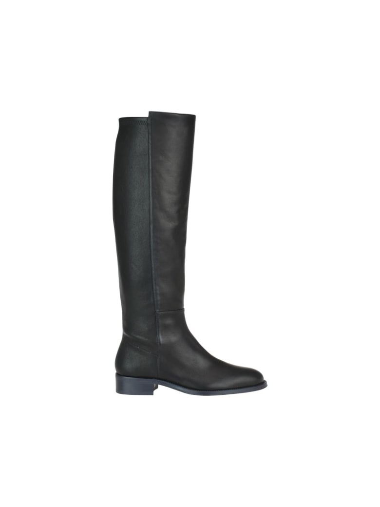 Stuart Weitzman Halfway Bama Boots - Black