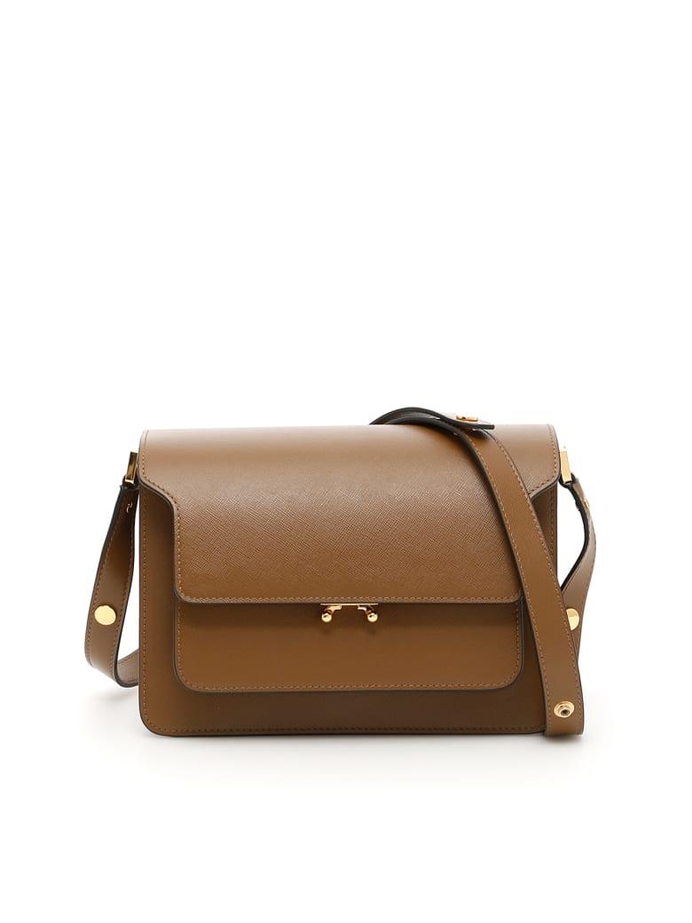 Marni Trunk Medium Bag - Beige